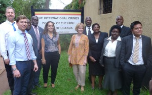 Visit to the International Crimes Division